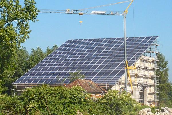 Centrale photovoltaïque<br>en Franche-Comté à Avilley (Doubs) 110kWc